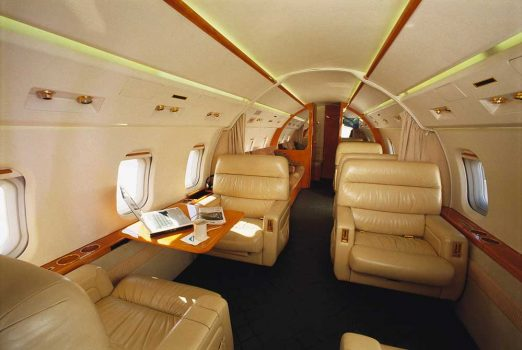 Richmore Aviation – Jet Interior